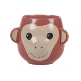 Hrnček Sass & Belle Treetop Friends Happy Monkey Mug