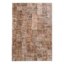 Svetlohnedý koberec z pravej kože Fuhrhome Ankara, 170×240cm