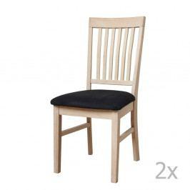 Sada 2 dubových stoličiek Furnhouse Mette