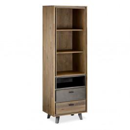 Knižnica z akáciového dreva Furnhouse Malaga Duo