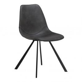 Sivá jedálenská stolička DAN–FORM Pitch