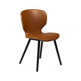 Hnedá jedálenská stolička DAN–FORM Hawk