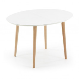 Rozkladací jedálenský stôl La Forma Oakland, 90x120/200cm
