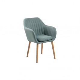 Svetlomodrá jedálenská stolička Actona Emilia