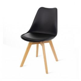 Čierna stolička loomi.design