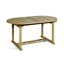 Záhradný rozkladací stôl z teakového dreva ADDU