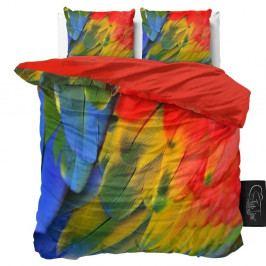 Obliečky z mikroperkálu Sleeptime Parrot, 160×200 cm