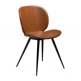 Hnedá koženková stolička DAN-FORM Denmark Cloud