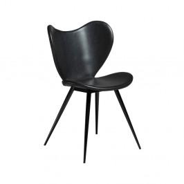 Čierna koženková stolička DAN-FORM Denmark Dreamer