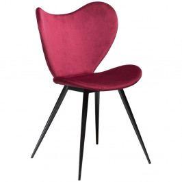 Tmavoružová stolička DAN-FORM Denmark Dreamer