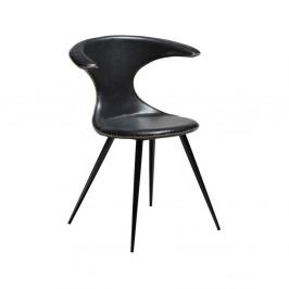 Čierna koženková stolička DAN-FORM Denmark Flair
