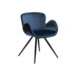 Modrá stolička DAN-FORM Denmark Gaia