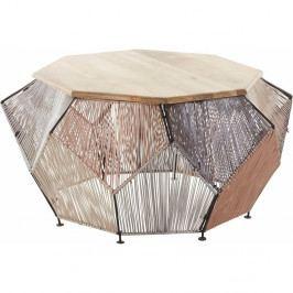 Konferenčný stolík z mangového dreva Støraa Reno, Ø 90 cm