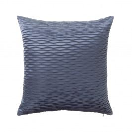 Modrý vankúš Unimasa Waves, 45×45 cm