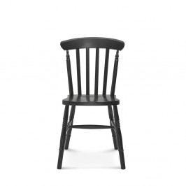 Čierna drevená stolička Fameg Ivar