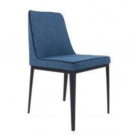 Modrá jedálenská stolička Ángel Cerdá Shannon