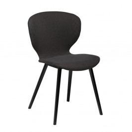 Čierna jedálenská stolička DAN-FORM Denmark Hawk