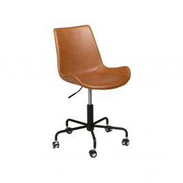 Svetlohnedá kancelárska stolička DAN-FORM Denmark Hype