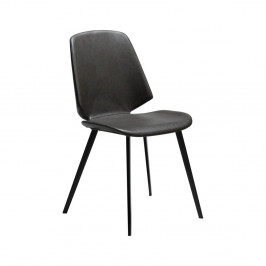 Sivá jedálenská stolička DAN-FORM Denmark Swing