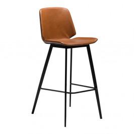 Svetlohnedá barová stolička DAN-FORM Denmark Swing