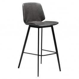 Sivá barová stolička DAN-FORM Denmark Swing