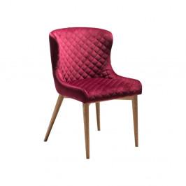 Vínovočervená jedálenská stolička DAN-FORM Denmark Vetro