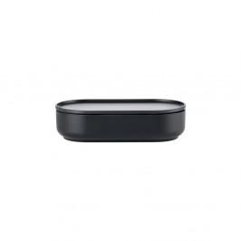 Čierna servírovacia miska s vrchnákom Zone Peili Reto