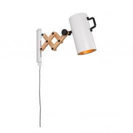 Biela nástenná lampa Zuiver Flex