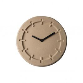 Béžové nástenné hodiny Zuiver Pulp Round