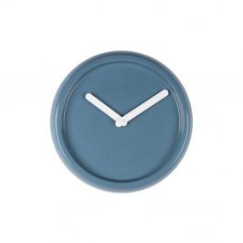 Sivé nástenné keramické hodiny Zuiver Ceramic