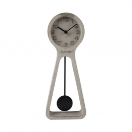 Sivé betónové stolové hodiny Zuiver Pendulum
