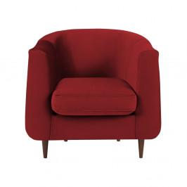 Červené kreslo Kooko Home Glam