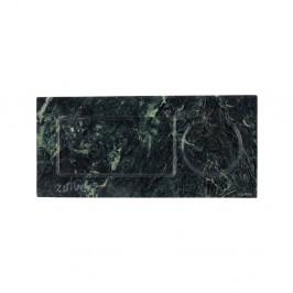 Zelený mramorový podnos Zuiver Tray