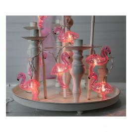 Svetelná LED reťaz Best Season Go Flamingo, 10svetielok