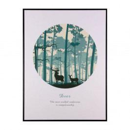 Obraz sømcasa Forest, 60×80 cm
