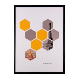 Obraz sømcasa He×agons, 60×80cm