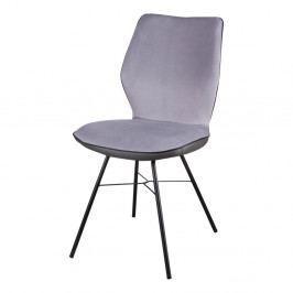 Sada 2 sivých stoličiek sømcasa Erika