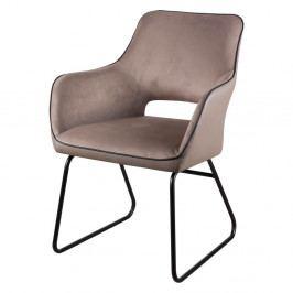 Béžová stolička sømcasa Delia