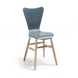 Sivá jedálenská stolička La Forma Talic