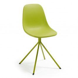 Zelená jedálenská stolička La Forma Mint
