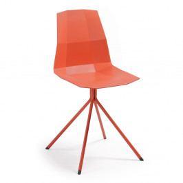Červená jedálenská stolička La Forma Pixel
