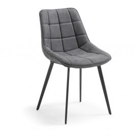 Sivá jedálenská stolička La Forma Adah