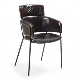 Čierna jedálenská stolička La Forma Rhett
