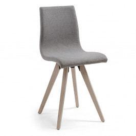 Sivá jedálenská stolička La Forma Una