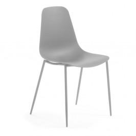 Sivá jedálenská stolička La Forma Wassu