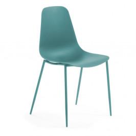 Tyrkysová jedálenská stolička La Forma Wassu