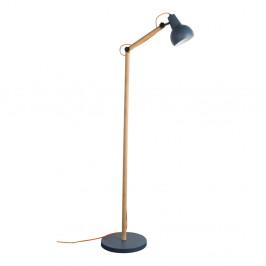Sivá stojacia lampa Zuiver Study