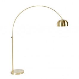 Stojacia lampa v mosadznej farbe Zuiver Bow