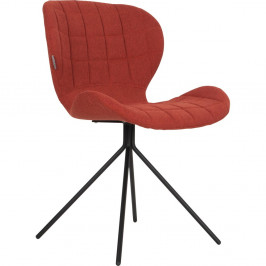 Sada 2 červených stoličiek Zuiver OMG