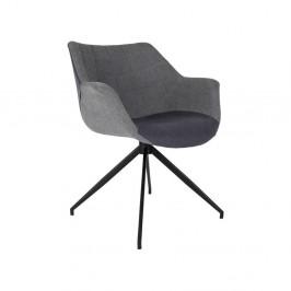 Sada 2 sivých stoličiek Zuiver Doulton